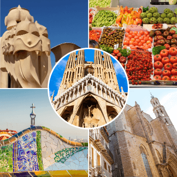 Moments of our Barcelona in two days tour