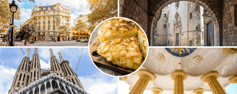 Sites seen in our Barcelona full day walking tour
