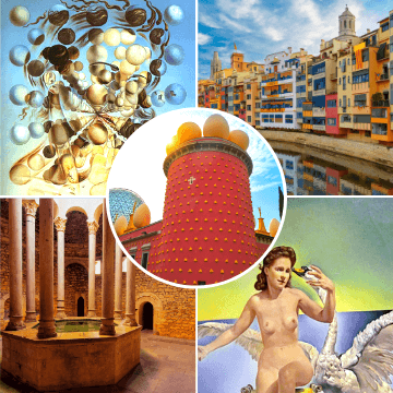 Highlights of our girona and dali museum day trip from barcelona