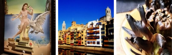 Highlights of our Girona Dali Day Tour