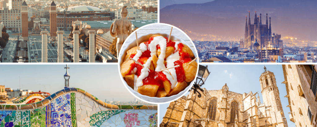 1 Day Sightseeing Tour of Barcelona Spain