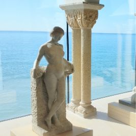 Sculpture in a Museum in Sitges