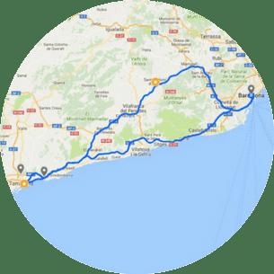 Tarragona & Wine Tours Map