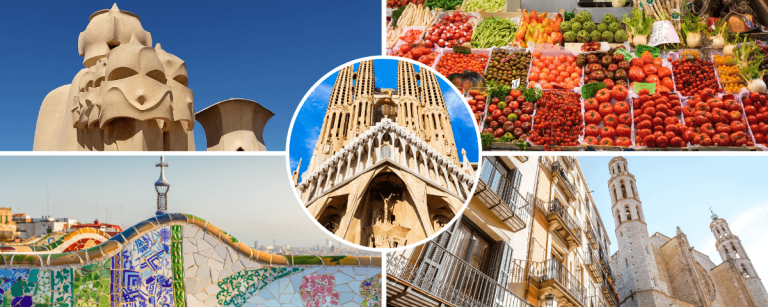 Sightseeing barcelona for two days
