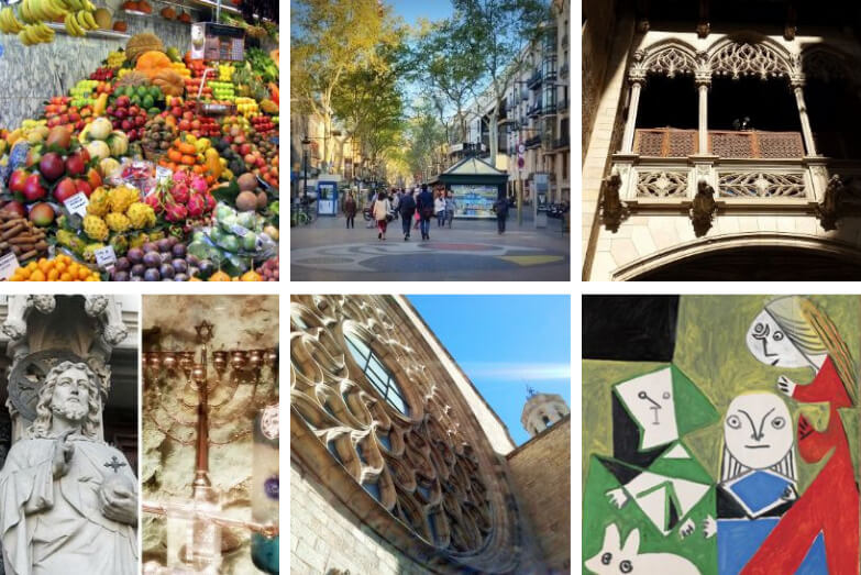 Images of best way to see Barcelona in two days with us