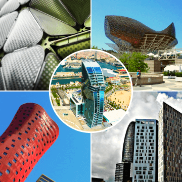 Sites visited in our Barcelona Architecture Tours