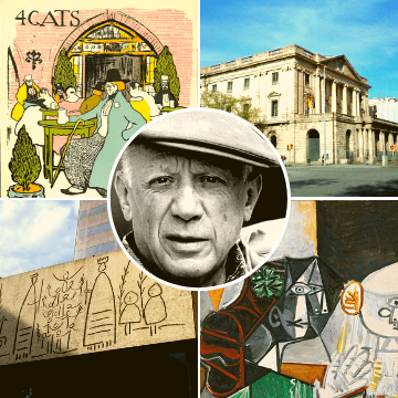 Moments of our Barcelona and Picasso Tour