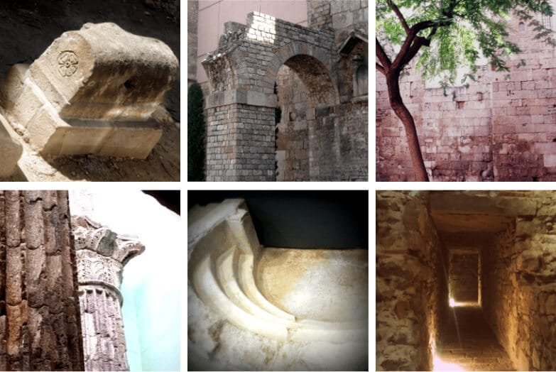 Highlights of our Private Barcelona Roman Ruins Tour