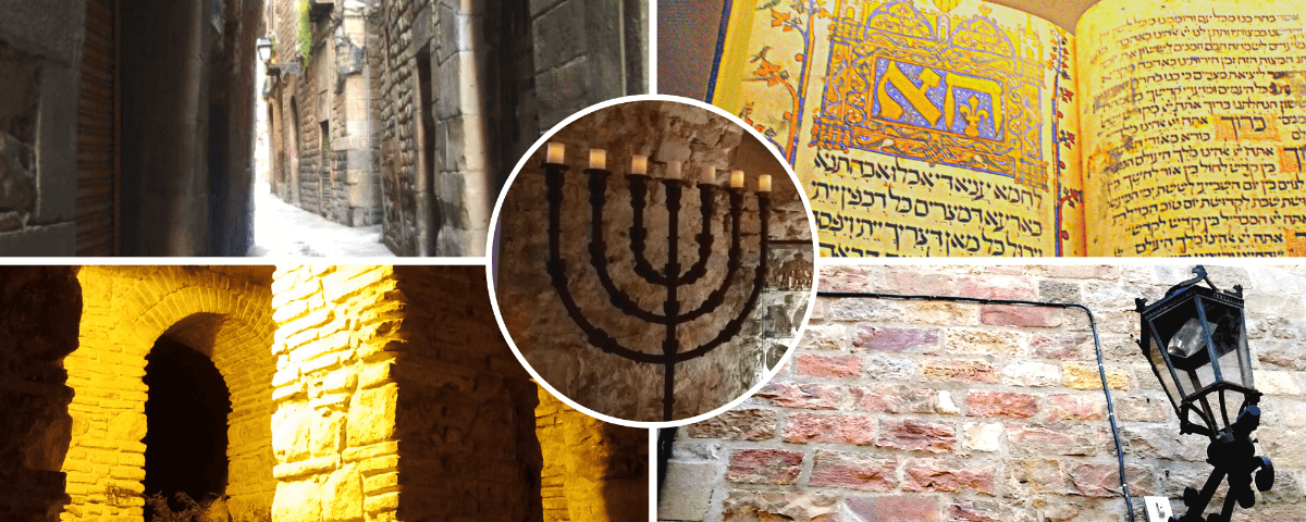 Elements seen in our Jewish Tours of Barcelona Spain