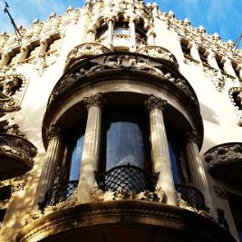 Casa Lleo Morera by modernista architect Domenech i Muntaner