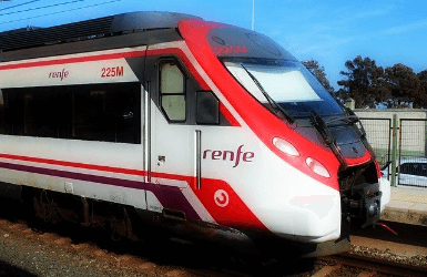 How to get form El Prat airport to Barcelona: By rodalies train