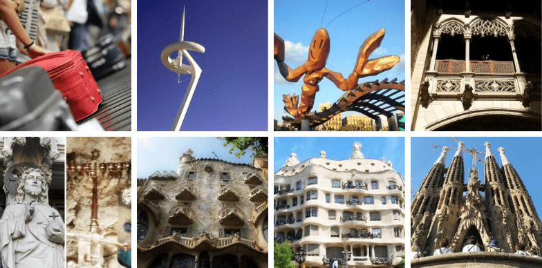 Highlights of our Barcelona day tours from airport