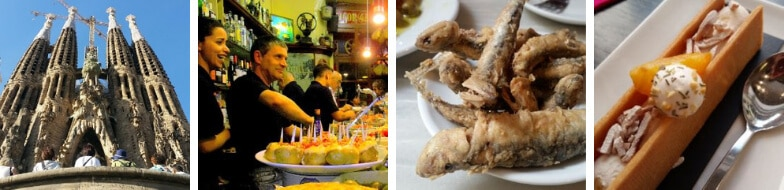 Highlights of our Gaudi Tapas and Wine Tour
