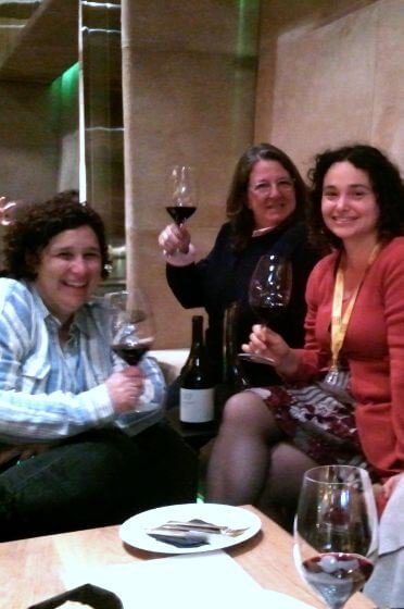 Ladies on our Sagrada Familia tapas tour