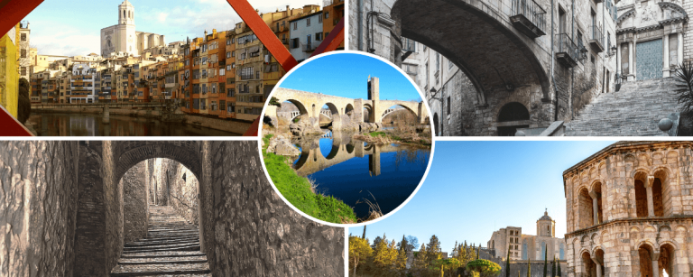 Barcelona to Besalu and Girona Day Tour