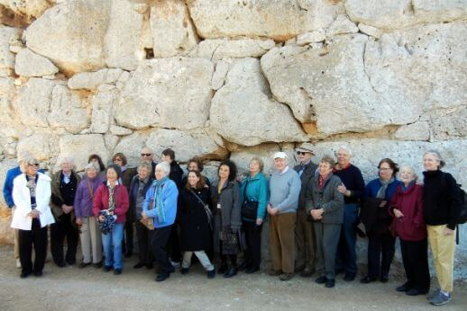 Harvard group in a Day trip to Tarragona from Barcelona