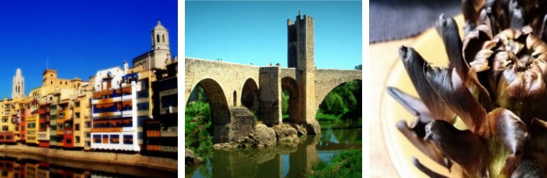 Highlights of our tour from Barcelona to Besalu