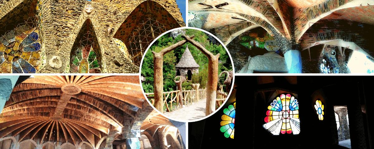 Cripta Guell Artigas Gardens tour