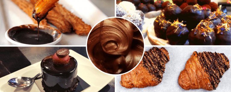 Images of our Barcelona chocolate tour