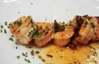 Sunday Dinning Barcelona: Shrimp