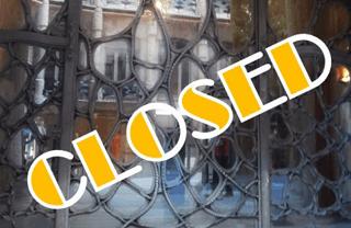 Spanish public holidays for Christmas: La Pedrera closed for Christmas