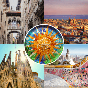 Sites included in our Barcelona 3 Days Tour
