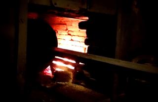Food Shops in Barcelona: Torradors Gispert wood oven