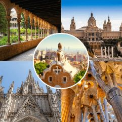 Sites in our Barcelona 4 Day Tour