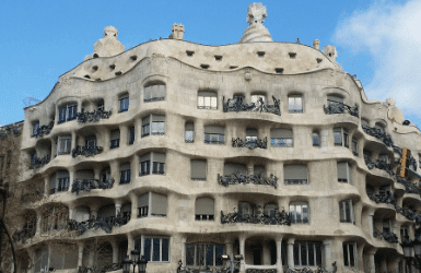 La Pedrera, modernist building by Gaudi