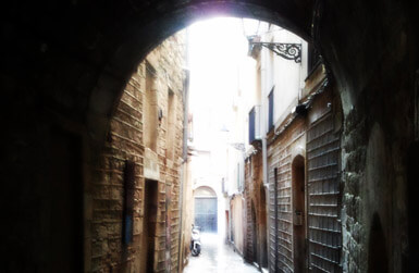 The Gothic Quarter Attractions: medieval alleys