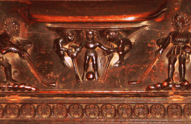 Cathedral of Barcelona: mercy chairs