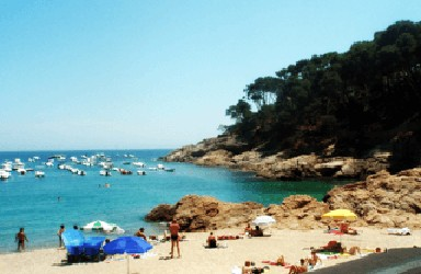 Tamariu, one of the best beaches near Barcelona Spain