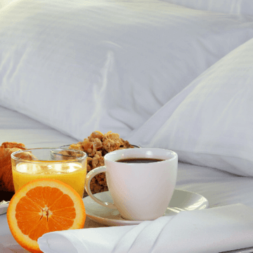 Room service breakfast in one of the 5 Star Hotels in Barcelona Spain | ForeverBarcelona