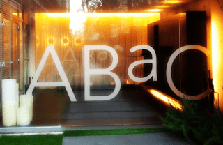 Abac, one of the top Michelin restaurants in Barcelona, Spain: Abac