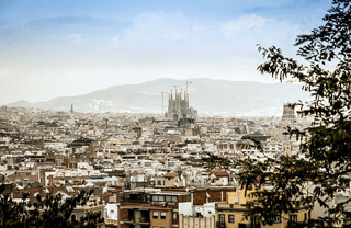 City views of Barcelona