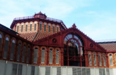 Markets in Barcelona, Spain: Sant Antoni