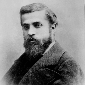 Portrait of Antoni Gaudi i Cornet