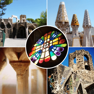 Moments in our Colonia Guell and Palau Guell Tour