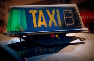 Available Taxi in Barcelona