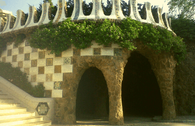 Cave of the Elephant in Park Guell