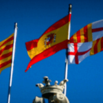 Flags in Spain