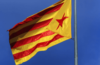 Catalonia Independence Flag