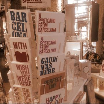 Barcelona museum gift store   ForeverBarcelona
