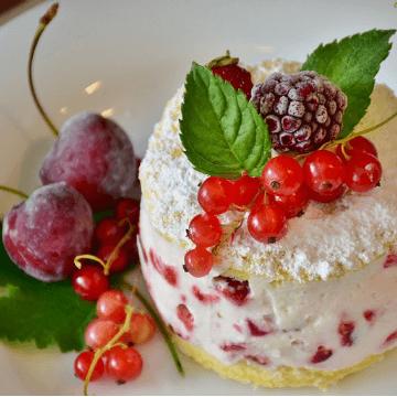 Dessert from a restaurant in Barcelona open August   ForeverBarcelona