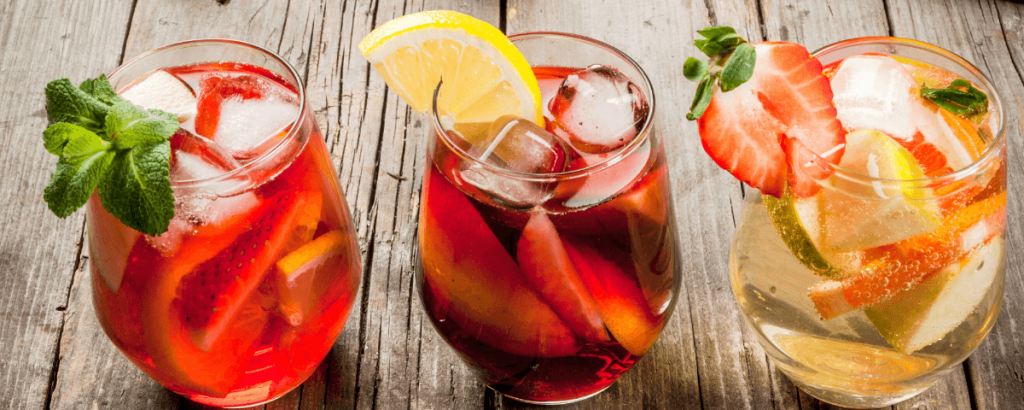 Refreshing summer drinks from Spain
