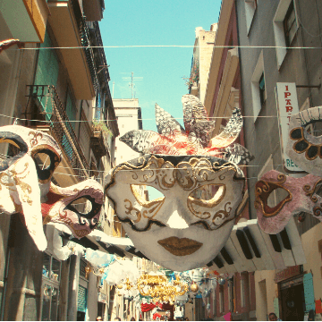 Street decoration during the Festival Gracia in Barcelona   ForeverBarcelona