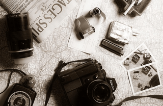 Items used for itinerary planning