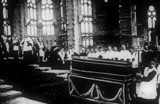 Antoni Gaudi funeral