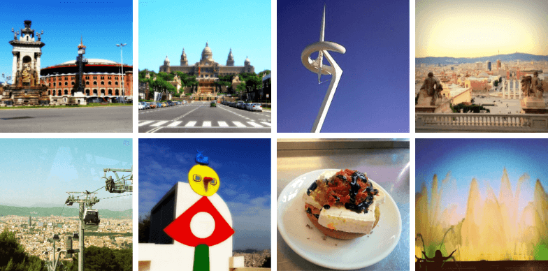 Highlights of our Montjuic Tour