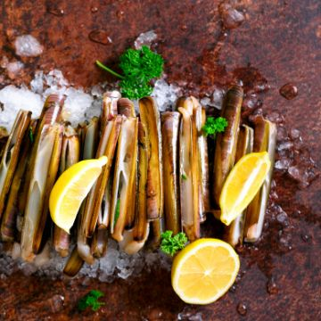 Razor Clams: one of the Spanish Types of Shellfish   ForeverBarcelona